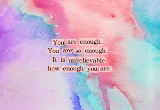 You Are Enough thumbnail